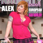 Mature.nl presents Alex (36) in Chubby Housewife Fingering Herself – 20.09.2016