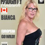 Mature.nl presents Bianca V. (54) – Canadian housewife fooling around – 21.09.2016