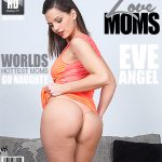 Mature.nl presents Eve Angel (31) in Steamy Mom Fingering Herself – 21.09.2016