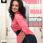 Mature.nl presents Maika (35) – Hot Housewife Playing With Herself – 12.09.2016