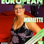 Mature.nl presents Mariette (54) – Big Beautiful Older Lady Fooling Around – 12.09.2016