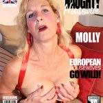 Mature.nl presents Molly V. (EU) (51) in British Housewife Playing with Her Toys – 16.09.2016