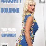 Mature.nl presents Roxanna C. (57) Fresh Mature Lady Fingering Herself – 26.09.2016