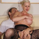Porndoepremium – SextapeGermany presents Manu Magnum, Maik in Blonde German slut with big tits wears stockings during amateur sex ride – 13.08.2016