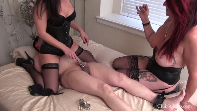 Watch Online Porn – Clubstiletto – Miss Jasmine, Goddess Rianna – Edging a Useless Dick (MP4, FullHD, 1920×1080)