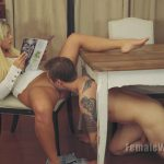 Femaleworship presents Madelyn in I Think You Know