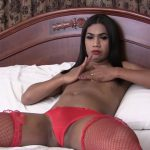 Ladyboy-ladyboy presents Demure May Jacks Off! – 23.09.2016