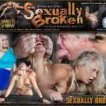 SexuallyBroken presents Angel Allwood, Matt Williams, Sergeant Miles – Bent Over and Roughly Fucked In Belt Bondage – 09.09.2016