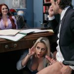 Brazzers – BigTitsAtWork presents Rachel RoXXX & Skyla Novea in Hungry For A Job – 10.09.2016