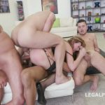LegalPorno – 5on1 Luca Bella – No Pussy  DAP  TP  MANHANDLE  BALL DEEP  GAPES New Milf Joins The Airline GIO249