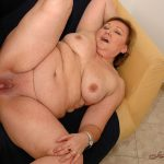 LustyGrandmas presents BBW Mature Margarethe Sucking and Fucking