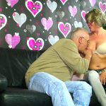 XXXOmas presents Karin in Cute amateur German granny gets cum on tits after hot hard fuck – 28.09.2016