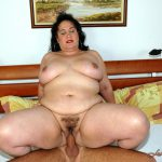 LustyGrandmas presents Mature BBW RoseAnne Sucking and Fucking Young Dick