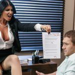 Brazzers – BigTitsAtWork presents Romi Rain in Pressing News – 09.10.2016