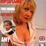 Mature.nl presents Amy (EU) (52) in British housewife fooling around – 18.10.2016