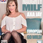 Mature.nl presents Axa Jay (EU) (31) – British MILF fingering herself – 21.10.2016