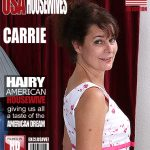 Mature.nl presents Carrie M. (52) in Hairy American Housewife Fingering Herself – 30.09.2016