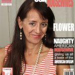 Mature.nl presents Flower (44) – American housewife goes wild – 21.10.2016