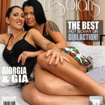 Mature.nl presents Giorgia (37), Gia (20) in 2 old and young lesbians playing with eachother – 25.10.2016