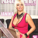 Mature.nl presents Janika S. (36) – Hot housewife fingering herself – 25.10.2016