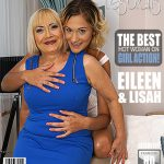 Mature.nl presents Lisah (54), Eileen (19) in Hairy Older Lady Has Sex with a Hot Young Babe – 01.10.2016