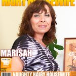 Mature.nl presents Marisah (48) – Hairy housewife fingering herself – 18.10.2016