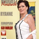 Mature.nl presents Ryanne (52) in Horny Housewife Playing With Herself – 03.10.2016
