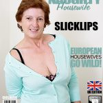 Mature.nl presents Slicklips (EU) (58) in British Mature Woman Playing with Herself – 13.10.2016