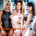 VivThomas presents Michelle H, Zoe Doll in The Initiation of a Maid Episode 3 – Dansel – 28.10.2016