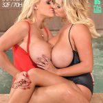 DDFNetwork – DDFBusty presents Katie T. aka Katie Thornton & Dolly Fox in Stranded And Horny – Busty Lesbians Make Out By The Pool – 22.10.2016