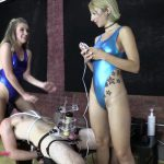 BratPrincess – Alexa and Harley – TENS Limit Tested while Facesat and Milked