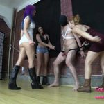BratPrincess – Goddess Amadahy, Edyn, Mia – Now You Cant Close Your Legs – Ballbusting