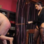 CybillTroy – Mistress Cybill Troy – Cane Shredded Slave Ass