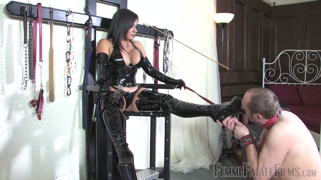 Watch Online Porn – FemmeFataleFilms – Mistress Real – The Best Boot Licker (MP4, HD, 1280×720)