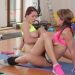 FitnessRooms presents Paola Mike, Paula Shy in Fit busty Asians lesbian workout – 14.10.2016 (MP4, FullHD, 1920×1080)