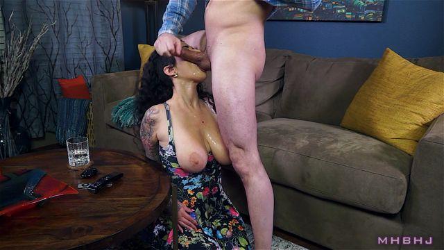 Watch Online Porn – Marks Head Bobbers and Hand Jobbers presents Blackmailing Arabelle Raphael DeepThroat 2 (MP4, FullHD, 1920×1080)