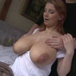 Readhead Wife with Huge Tits Fully Milk