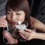 SpermMania presents Shino Aoi Uses A Group of Guys Cum For One Messy Handjob
