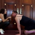THEMEANGIRLS – Princess Carmela – Jerking Sissy Punishment