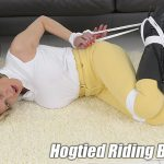 Lady-Sonia presents Lady Sonia in Riding Bitch Captured And Hogtied