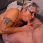 PornDoePremium – HausfrauFicken presents Brigitte T. in Tattooed chunky German granny sucks and fucks her badass husband – 24.10.2016