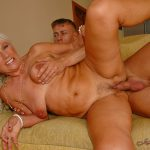 LustyGrandmas presents Mature Mamie with Young Boy