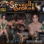 SexuallyBroken – RealTimeBondage presents Part ONE of Octobers Halloween live show! Syren De Mer gets fucked up! Brutal fucking – 07.11.2016