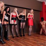 Femmefatalefilms presents Mistress Heather, Lady Natalie Black, Mistress Akella, Mistress Carly, Mistress Eleise de Lacy – Smash Hits