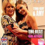 Mature.nl presents Amy (EU) (52), Tina Kay (30) – Young and old British ladies fooling around – 08.11.2016