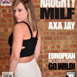 Mature.nl presents Axa Jay (EU) (31) – British MILF playing with herself – 10.11.2016