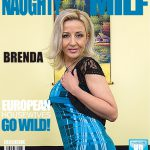 Mature.nl presents Brenda B. (39) in Mature lady Masturbating – 07.11.2016