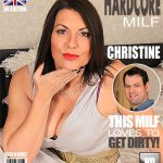 Mature.nl presents Christine O. (EU) (47) in British Big Breasted Milf Fucking and Sucking – 19.11.2016