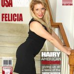 Mature.nl presents Felicia K. (30) in American Milf Fingering Herself – 17.11.2016