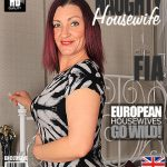 Mature.nl presents Fia (EU) (46) in British housewife fingering herself – 25.11.2016
